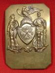N. Y. Militia City Guard Officer's Shoulder Plate