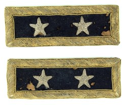 Major General Shoulder Straps