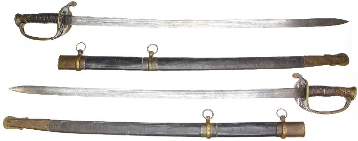 Etched blade Boyle & Gamble foot officer sword