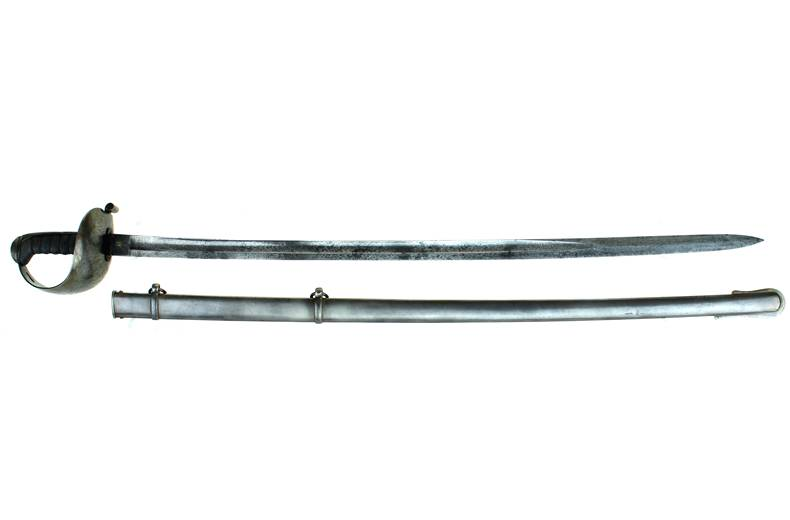 Non Regulation Staff & Field Sword- rare hilt style