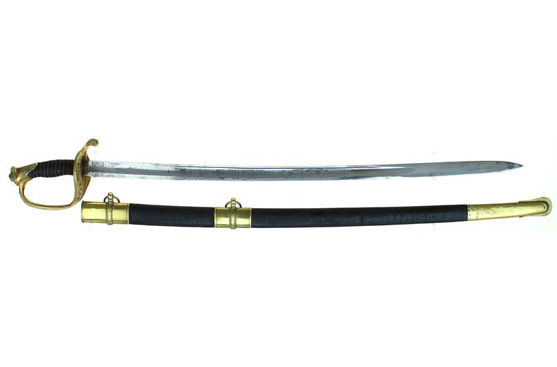 M 1850 Foot Officer Sword